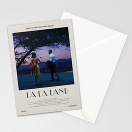 La La Land (2016) Minimalist Poster Stationery Cards
