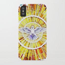 Holy Spirit in Christianity Catholic Church Trinity Sacred, God, Jesus, Bible iPhone Case