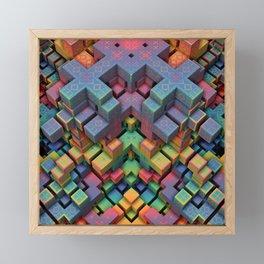 Mindcraft Framed Mini Art Print
