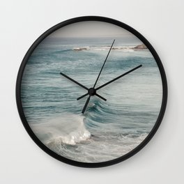 West Coast Portugal Waves Wall Clock