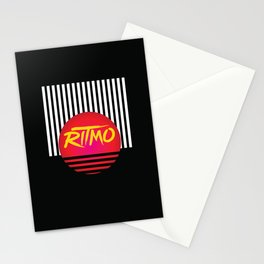 Ritmo | Rhythm of the night Stationery Cards
