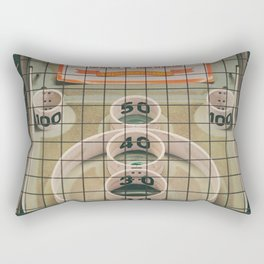 Skee Ball Game Rectangular Pillow