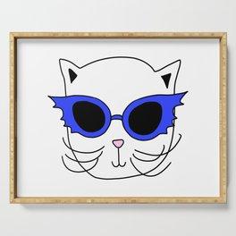 Cat Bat Sunglasses Serving Tray