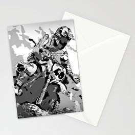 Motocross Dirt-Bike Championship Racer Stationery Cards