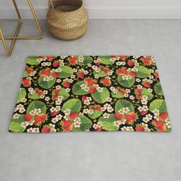 Strawberries Botanical Rug