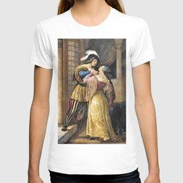 Romeo And Juliet - Francesco Hayez T-shirt