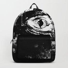 alligator baby eye wsbbw Backpack