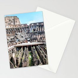 Roma, Colosseo interno | Rome, inside colosseum Stationery Cards
