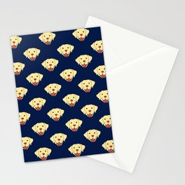yellow lab for mom Stationery Cards