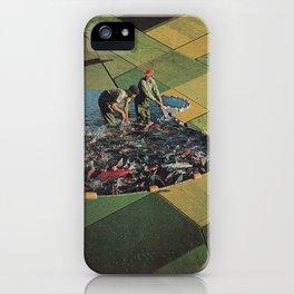 Salmon Farm iPhone Case