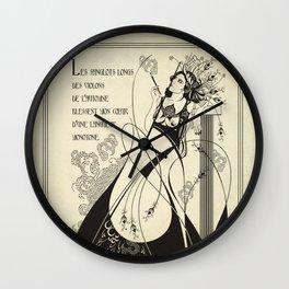 Autumn Song Wall Clock