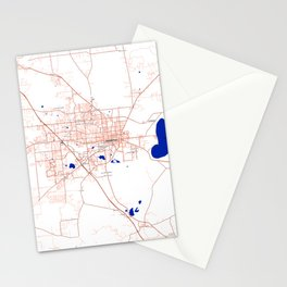 FanMap | NCAA SEC Florida #5 Stationery Cards