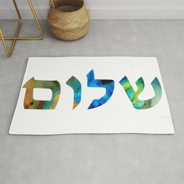 Shalom 15 by Sharon Cummings Rug