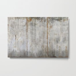 Concrete Wall Metal Print