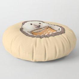 Pumpkin Spike Latte Floor Pillow