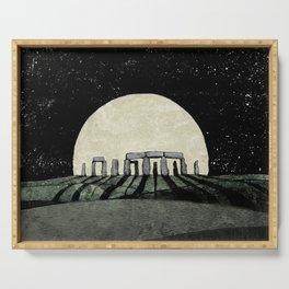 Rising Moon Serving Tray