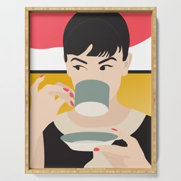 Audrey Tea Time Serving Tray