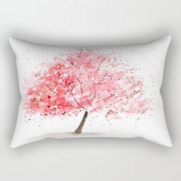Kwanzan Cherry Tree Rectangular Pillow