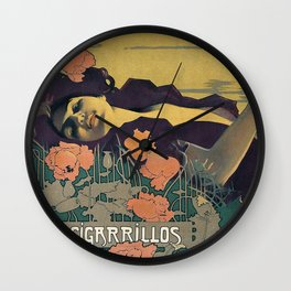 Cigarrillos Paris Wall Clock