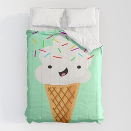 Happiness Is Sprinkles On Your Ice Cream Comforters