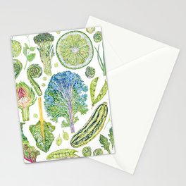 Harvest of Green Stationery Cards