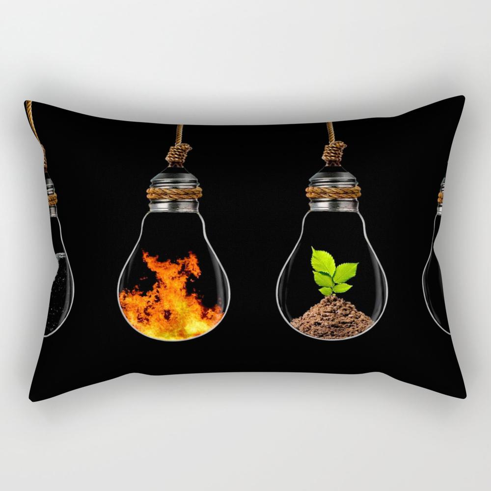 Earth Elements Rectangular Pillow RPW7903903