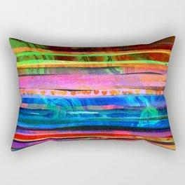 bohemian lines Rectangular Pillow