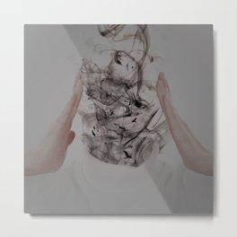 Smokehead Metal Print