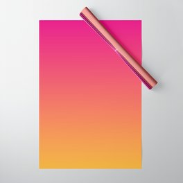 Ombre | Color Gradients | Gradient | Two Tone | Pink | Orange | Wrapping Paper