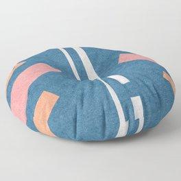 60s Presley Stripes Floor Pillow