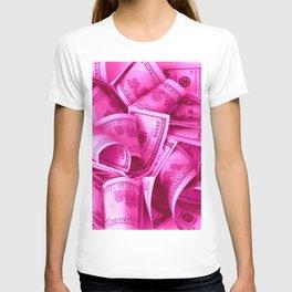 Pink Barbie Benjamins T-shirt