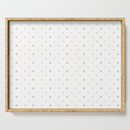 Just Dots// Pastels Serving Tray