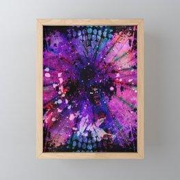 Psychedelic Festival 001 Framed Mini Art Print