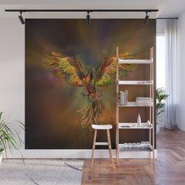 Phoenix Rising Wall Mural