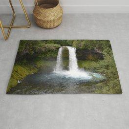 Koosah Falls Oregon Rug