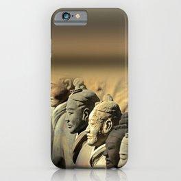 Chinese Terracotta Warriors iPhone Case