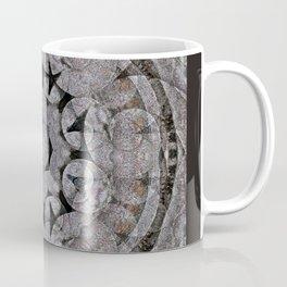 Gothic Romanesque Stone Architecture Mandala Pattern Coffee Mug