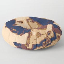 Oscar Wilde Floor Pillow