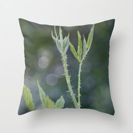 Thorny Botanicals Throw Pillow
