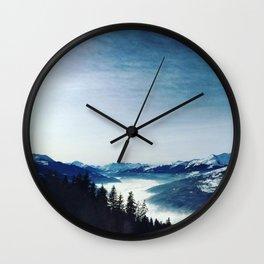 montagne Wall Clock