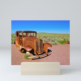 Relic of Historic Route 66 in Arizona Mini Art Print