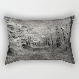 Autumn - b & w Rectangular Pillow