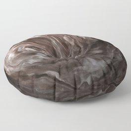 Coffee and cream swirl Floor Pillow