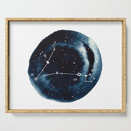 Pisces Zodiac Constellation Serving Tray