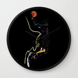 Lebron King James basketball sports player  Wall Clock