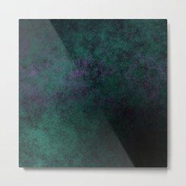 Green Cloudy Violet Metal Print