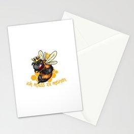Keine Zeit Bienen Spruch | Imker Honig Imkerei Stationery Cards