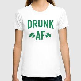 Drunk AF Funny Quote T-shirt
