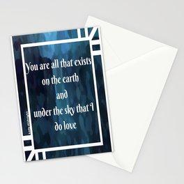 Lady Midnight Stationery Cards