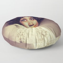 Aretha Franklin, Music Legend Floor Pillow